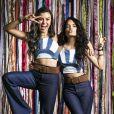 """Em """"Malhação - Viva a Diferença"""", Talita Younan causou como K1, dupla de K2 (Carol Macedo)"""