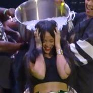 Desafio do Balde de Gelo: Rihanna e Eminem fazem brincadeira ao vivo em show