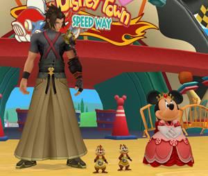 """Terra vai estar em """"Kingdom Hearts HD 2.5 ReMIX"""": e também a Minnie princesa junto a Tico e Teco"""
