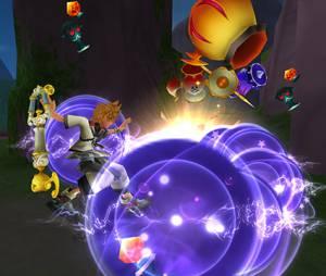"""Lutas incríveis em """"Kingdom Hearts HD 2.5 ReMIX"""""""
