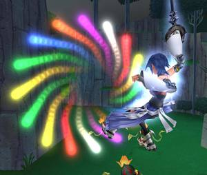 """Kingdom Hearts HD 2.5 ReMIX"" com ataques especiais e coloridos"