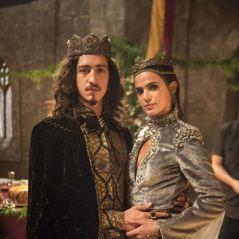 """Novela """"Deus Salve o Rei"""": Catarina se revolta e sabota Rodolfo"""