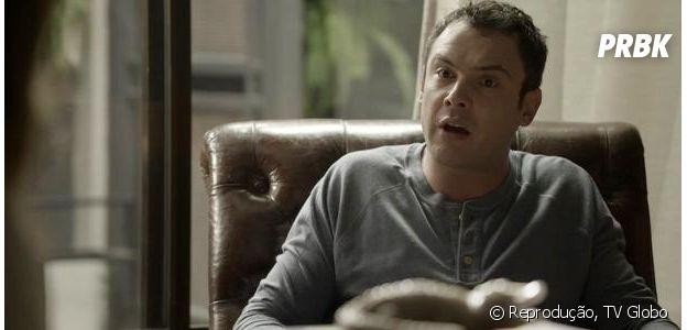 """Em """"O Outro Lado do Paraíso"""", Gael (Sergio Guizé) descobre que a mãe, Sophia (Marieta Severo), é uma assassina"""