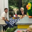 """Breno, eliminado do """"BBB18"""", participa do """"Mais Você"""" com Ana Maria Braga e fala sobre triângulo com Paula e Ana Clara"""