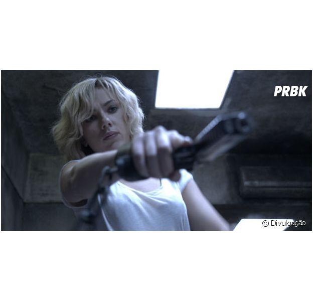 """Scarlett Johansson estrela ficção científica """"Lucy"""""""