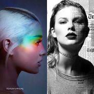 Ariana Grande ou Taylor Swift: quem teve o melhor lançamento da sexta-feira(20)?