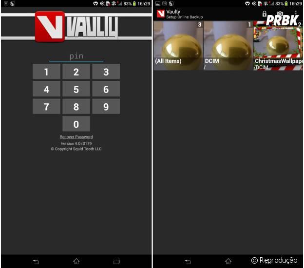 Vaulty para Android ajuda a proteger suas fotos com muitos recursos