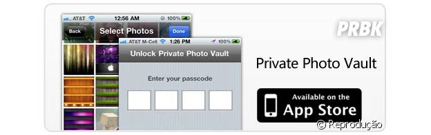 """O """"Private Photo Vault"""" ajuda a bloquear as fotos e vídeos do iPhone e Ipad com senha"""