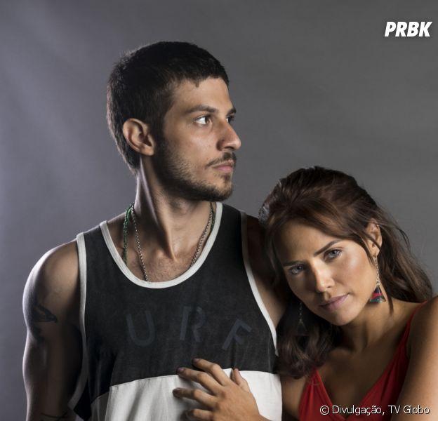 """Em """"Segundo Sol"""", Ícaro (Chay Suede) e Rosa vão namorar escondidos de Laureta"""