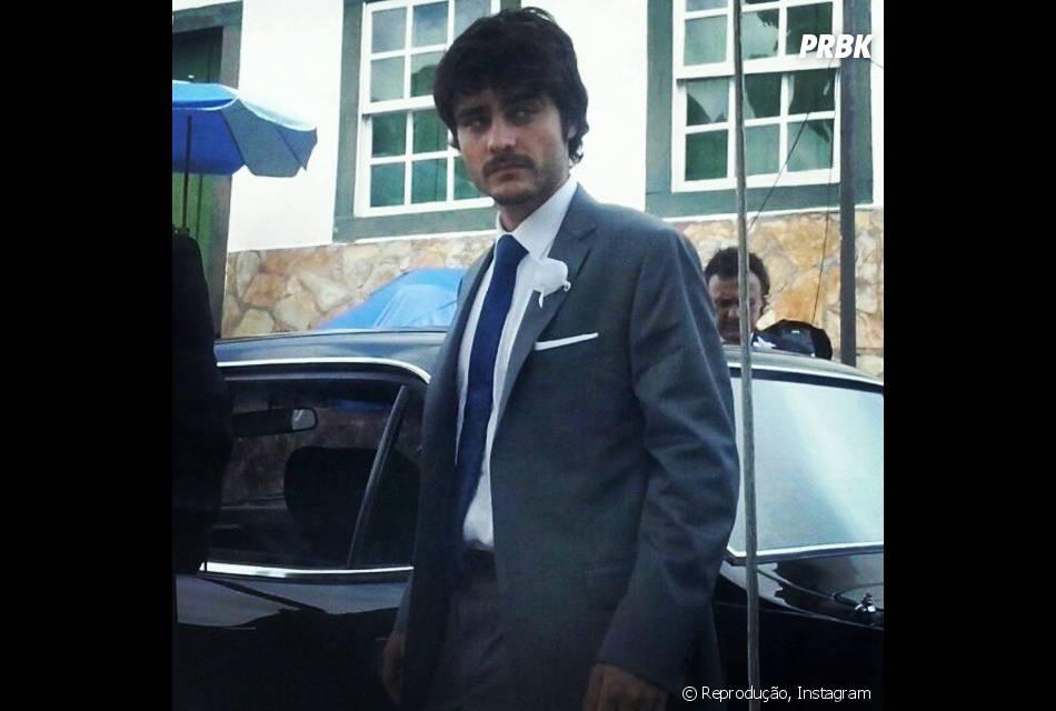 """O ator Guilherme Leicam interpreta o noiva da personagem de Bruna Marquezine na próxima novela das nove, """"Em Família"""""""