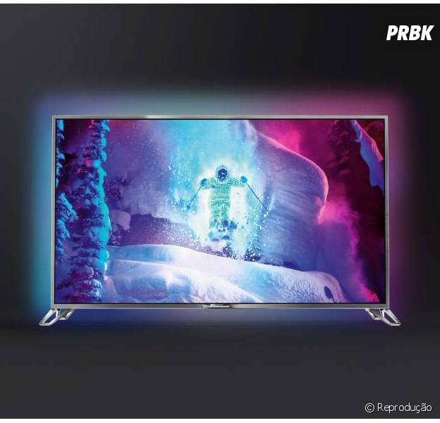 Philips lança TV Ultra HD com sistema Android capaz de acessar Google Play