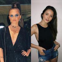 Giovanna Chaves poderosa ou natural? Qual maquiagem da atriz você prefere?
