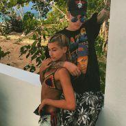 Justin Bieber e Hailey Baldwin trocam beijos quentes em Nova York. Veja os flagras!