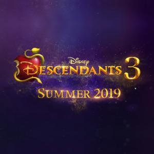 """De """"Descendentes 3"""": Disney posta foto inédita para anunciar o fim das gravações do último filme"""