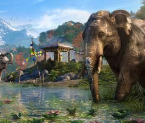 """Os elefantes serão perigosas armas em """"Far Cry 4"""""""