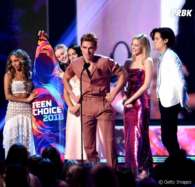 "Supremacia ""Riverdale"": série vence 9 categorias do Teen Choice Awards 2018"