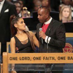 Ariana Grande foi assediada no velório de Aretha Franklin e os seus fãs estão revoltados!