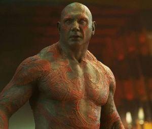 """De """"Guardiões da Galáxia 3"""": intérprete de Drax, Dave Bautista, não quer mais trabalhar para a Disney!"""