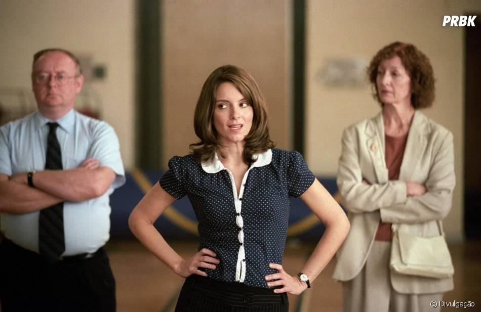 """Tina Fey é a roteirista e ainda integra o elenco do sucesso """"Meninas Malvadas"""""""