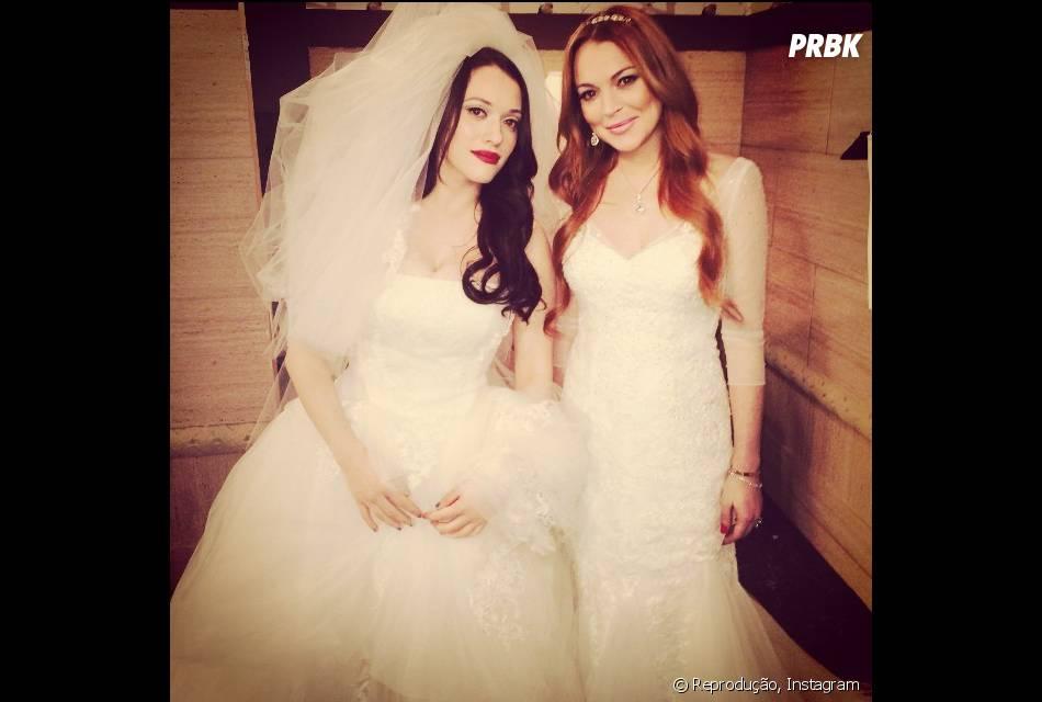 """Lindsay Lohan esteve há pouco tempo em um episódio super engraçado da série """"2 Broke Girls"""""""