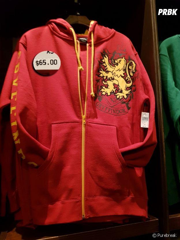Outro casaco temático de Harry Potter à venda em Orlando, nos EUA