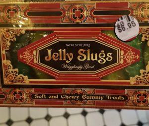 Minhocas de gelatina do Harry Potter vendidas em Orlando, nos EUA