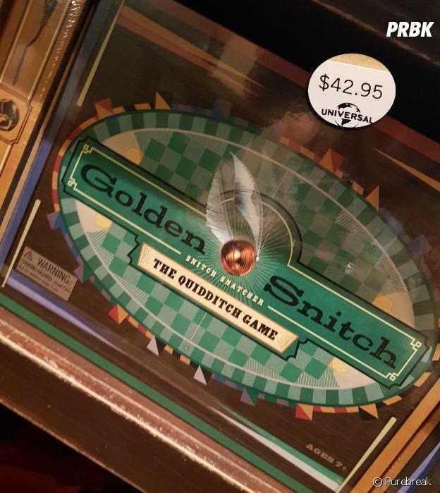 Um jogo de tabuleiro de Quadribol do Harry Potter? Você pode comprar em Orlando, nos EUA