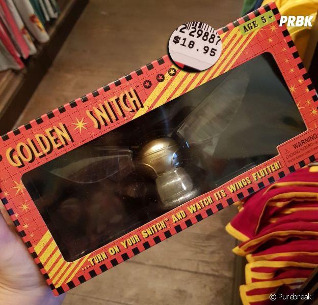 Você sempre quis ter um pomo de ouro do Harry Potter? Pode comprar em Orlando, nos EUA