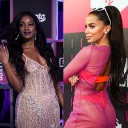 Anitta recebeu uma crítica machista de um seguidor e Iza saiu em defesa da cantora