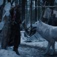 """De """"Game of Thrones"""": na última temporada veremos Jon Snow (Kit Harrington) e Ghost juntos novamente!"""