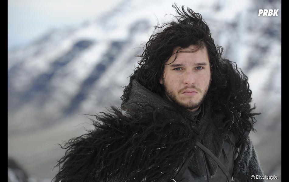 """Em """"Game of Thrones"""": Ghost, lobo de Jon Snow, está de volta para o adeus"""
