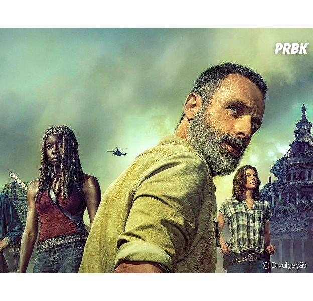 """""""The Walking Dead"""" está voltando neste domingo (7) com sua 9ª temporada!"""