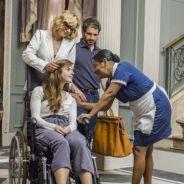 """Rochelle volta pra casa de cadeira de rodas e se muda para o quarto da empregada em """"Segundo Sol"""""""
