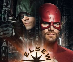 "Primeiro pôster do crossover entre ""The Flash"" e ""Arrow"" é divulgado"