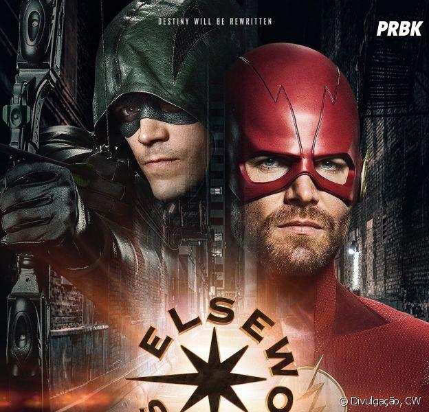 """Primeiro pôster do crossover entre """"The Flash"""" e """"Arrow"""" é divulgado"""