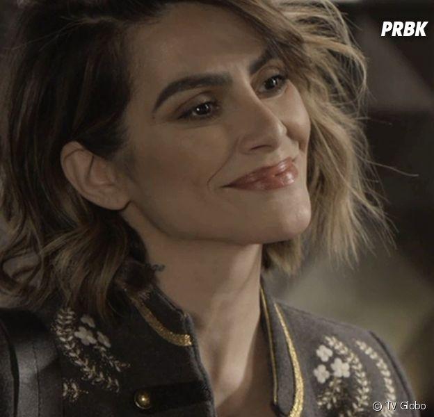 """Em """"O Tempo Não Para"""": Betina (Cloeo) arma novo plano para acabar de vez com Marocas (Juliana Paiva)"""