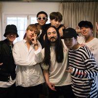 """BTS lança primeira música toda em inglês! Ouça """"Waste It On Me"""" com Steve Aoki"""