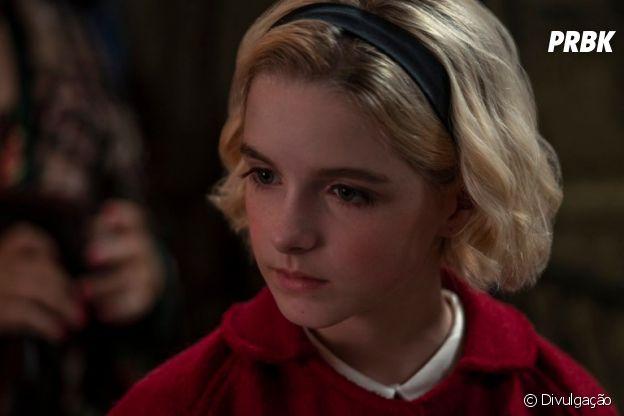 """Atriz de """"A Maldição da Residência Hill"""", McKenna Grace, fará Sabrina jovem em especial de Natal"""