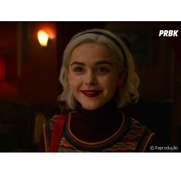 """Casa de bonecas, fantasmas aterrorizantes, Sabrina jovem e mais: Veja o que vai rolar no especial de Natal de """"O Mundo Sombrio de Sabrina"""""""