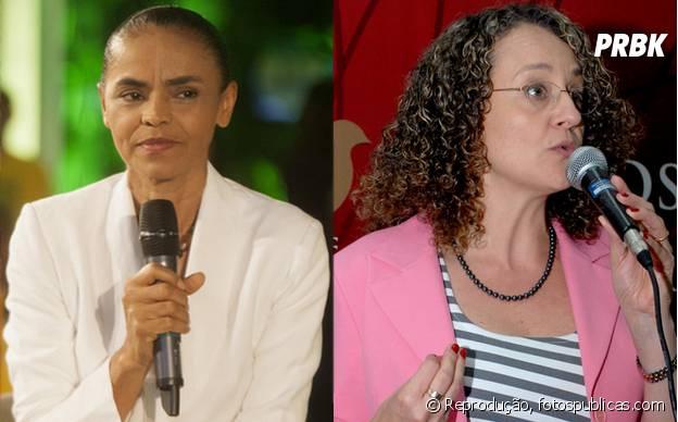 Luciana Genro e Marina Silva segundo turno