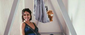 A ex-Malhação Daphne Bozaski já está em contagem regressiva para o nascimento do primeiro filho