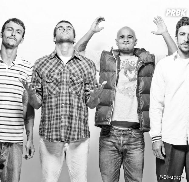 """Banda carioca Forfun comemora sucesso do lançamento de """"Nú"""", o quinto CD da carreira do grupo"""