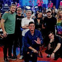 """Gleici e outros campeões do """"Big Brother Brasil"""" se encontraram para gravar o programa """"Altas Horas"""""""