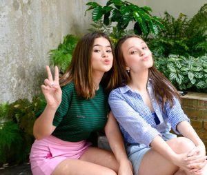 Maisa Silva e Larissa Manoela estão em nova websérie do SBT para o IGTV