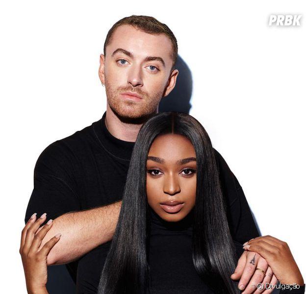 Sam Smith libera teaser de música com Normani, ex-Fifth Harmony