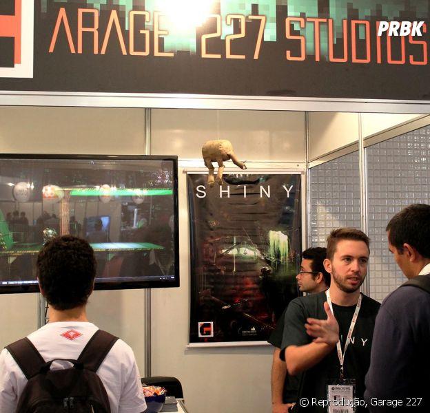 O Estúdio Garage 227 apresenta seu jogo Shiny na Brasil Game Show 2014
