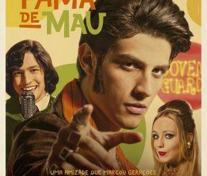 """Chay Suede se transforma em Erasmo Carlos no trailer de """"Minha Fama de Mau"""""""