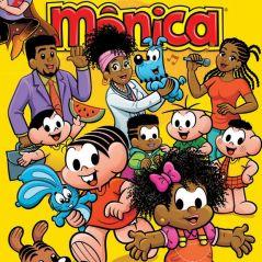 """A primeira família negra da """"Turma da Mônica"""" foi apresentada por Mauricio de Sousa"""