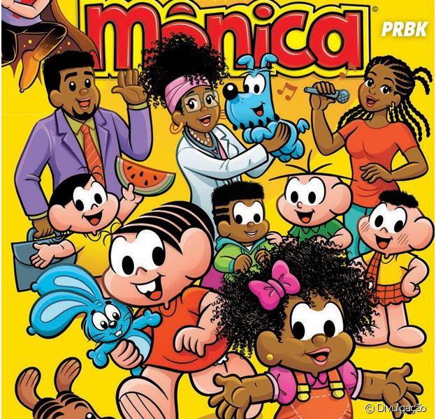 """De """"Turma da Mônica"""", conheça Milena e sua família!"""