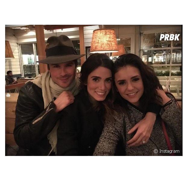 Nina Dobrev fala sobre amizade com Ian Somerhalder e Nikki Reed